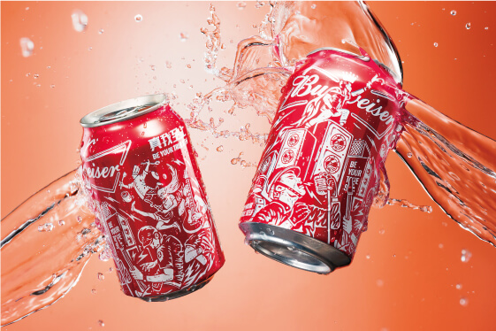 Budweiser 百威啤酒 產品包裝設計