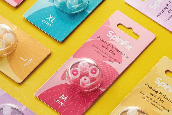 SpinFit 產品包裝設計