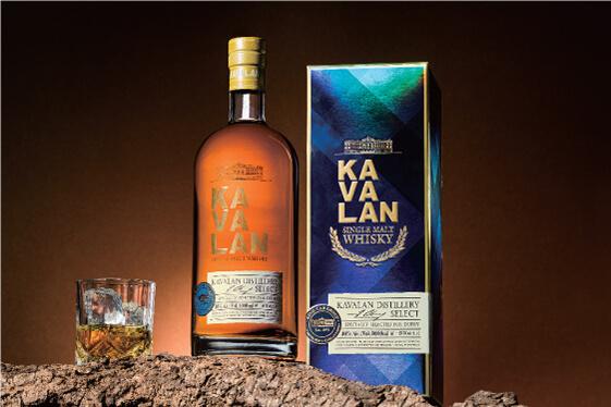 KAVALAN噶瑪蘭威士忌 酒品包裝設計