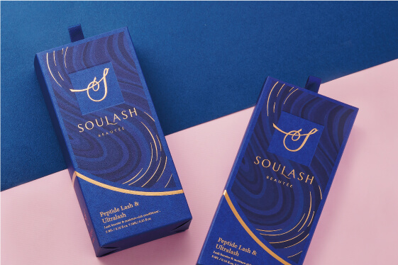 SOULASH BEAUTÉE 美妝產品包裝規劃設計