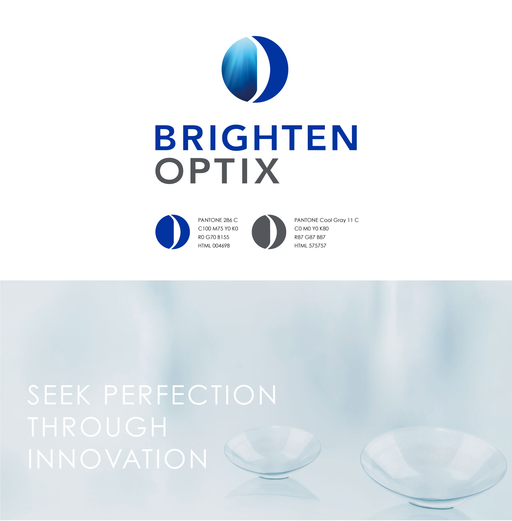 BRIGHTEN OPTIX brand design