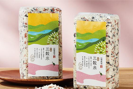 民豐 有機三穀米 產品包裝設計