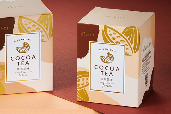 宏亞禮坊可可豆茶 產品包裝設計