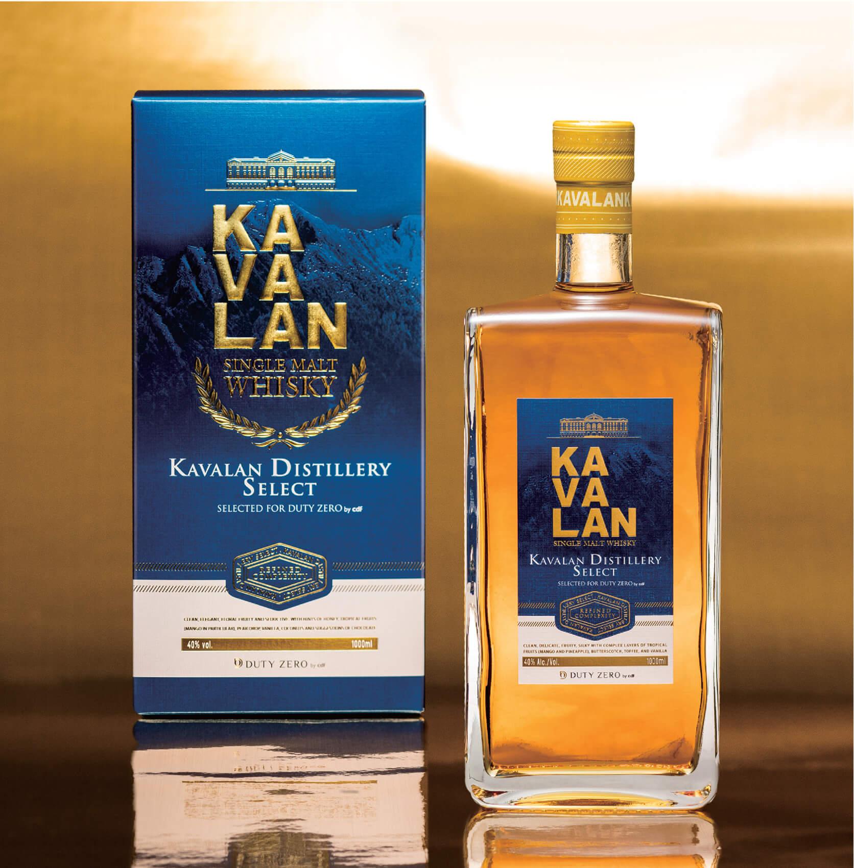 KAVALAN Distillery 威士忌包裝設計