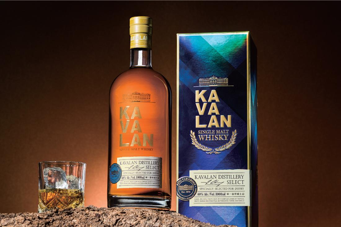 噶瑪蘭 DISTILLERY SELECT威士忌 禮盒包裝規劃設計