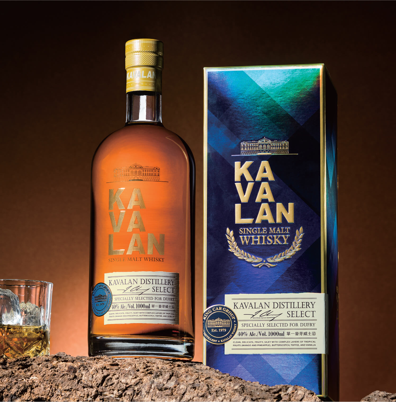 KAVALAN噶瑪蘭威士忌