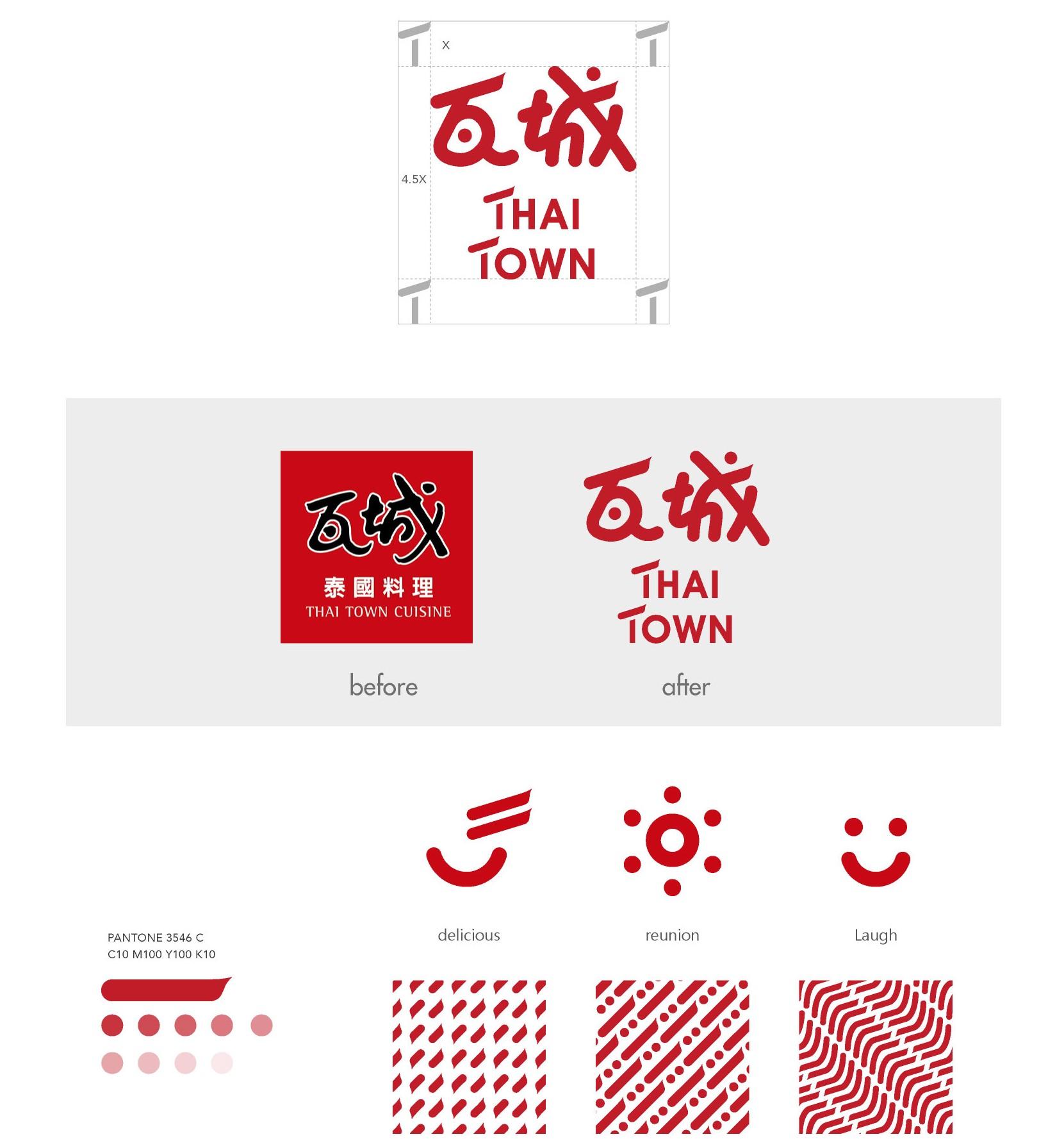 THAI TOWN 瓦城 品牌形象重整規劃設計