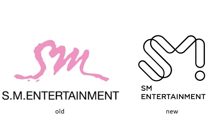 SM娛樂 logo設計