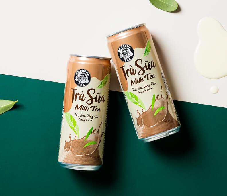 伯朗咖啡 茶類飲品包裝設計