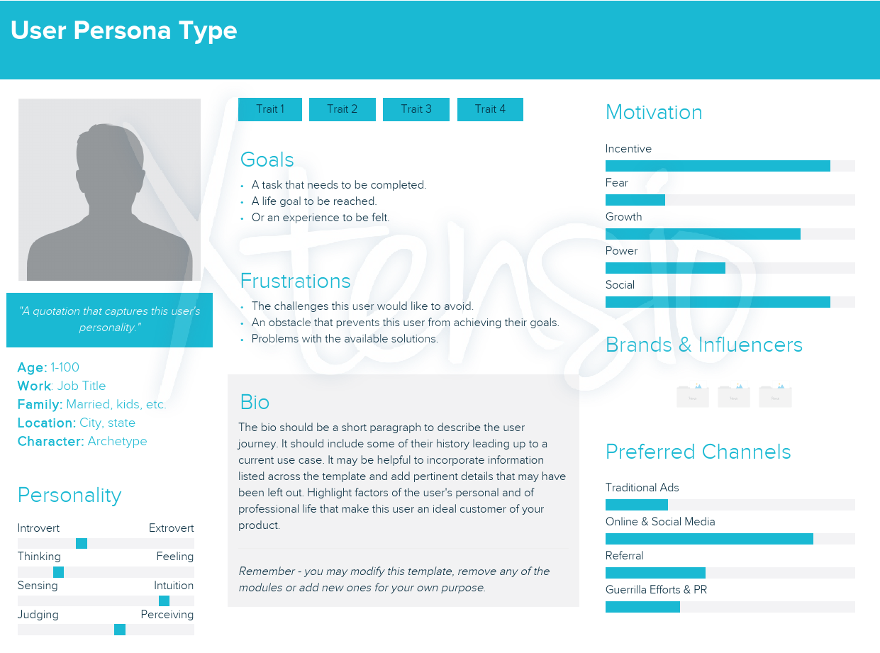 消費者分析 persona